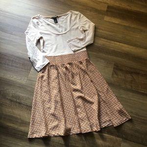 H&M High Waist Dress